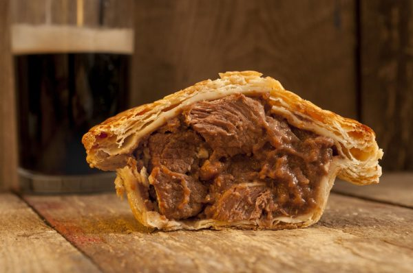 Buxton Pies Beef and Guinness pie